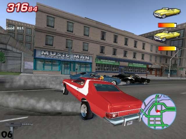 Скриншот к игре Starsky and Hutch.