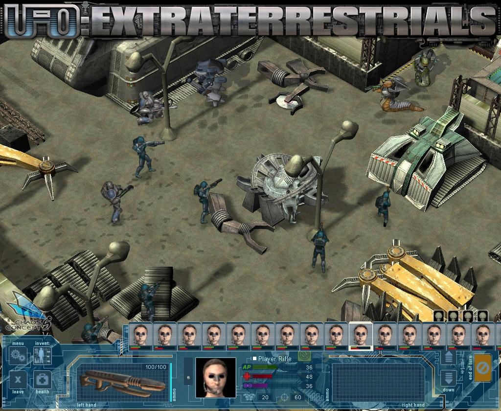 UFO: Extraterrestrials обзор, профиль игры UFO: Extraterrestrials ...