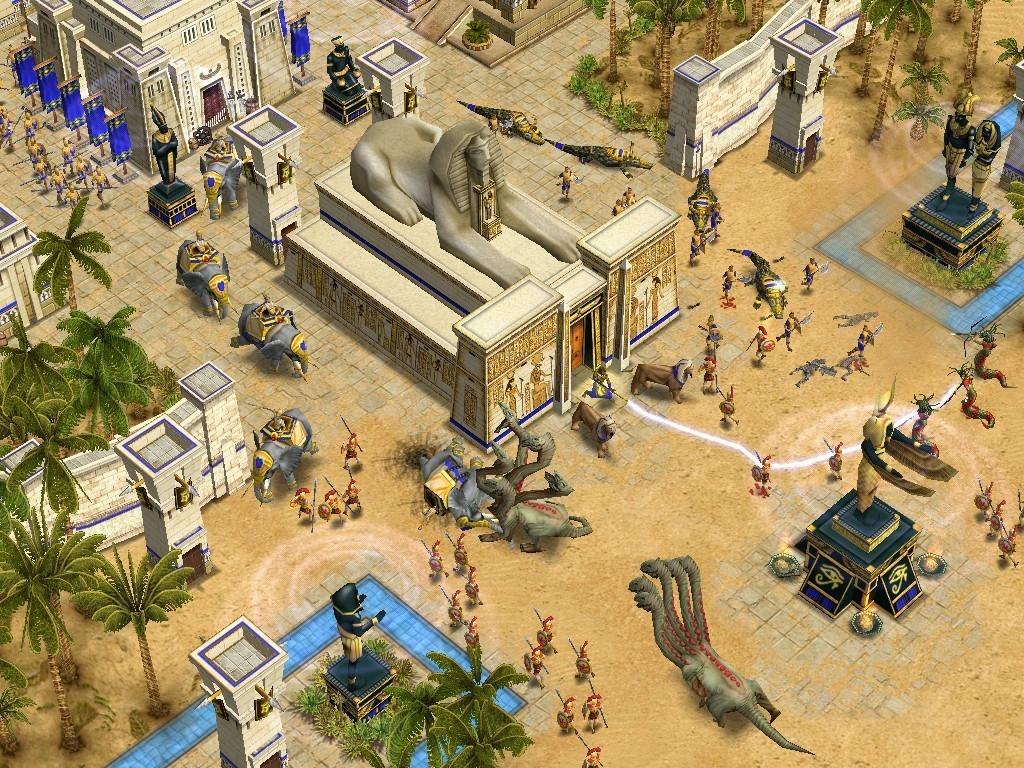 Скриншот Age of Mythology.