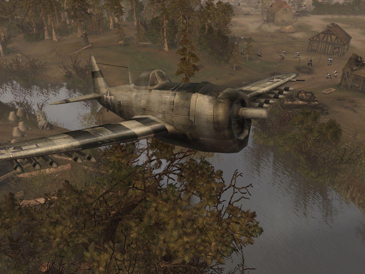 Текущий показываемый скриншот из игры strong em Company of Heroes