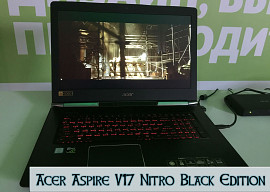 Первый взгляд Acer Aspire V17 Nitro Black Edition