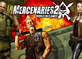 Обложка к игре Mercenaries 2: World in Flames
