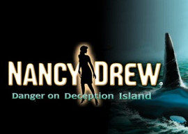 Обложка игры Nancy Drew: Danger on Deception Island
