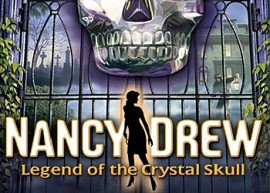 Обложка игры Nancy Drew: Legend of the Crystal Skull