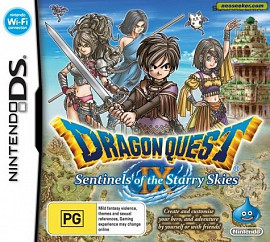 Обложка к игре Dragon Quest 9: Sentinels of the Starry Skies
