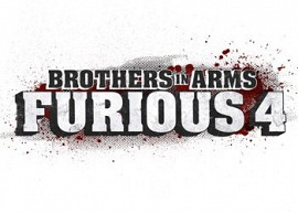 Обложка к игре Brothers in Arms: Furious 4