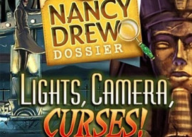 Обложка игры Nancy Drew Dossier: Lights, Camera, Curses!