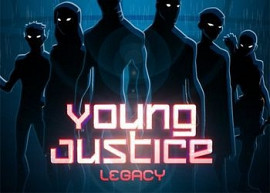 Обложка к игре Young Justice: Legacy