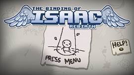 Обложка игры Binding of Isaac: Rebirth, The
