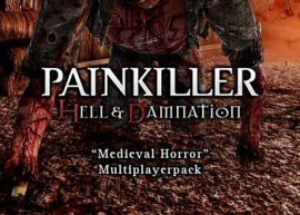 Обложка к игре Painkiller Hell & Damnation: Medieval Horror