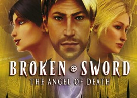 Обложка игры Broken Sword: The Angel of Death