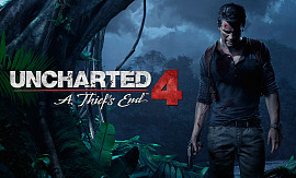 Обложка игры Uncharted 4: A Thief's End