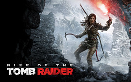 Обложка игры Rise of the Tomb Raider