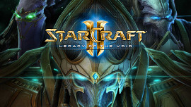 Обложка к игре StarCraft 2: Legacy of the Void