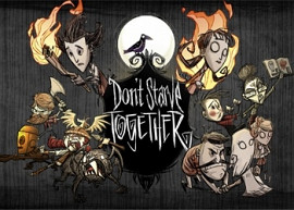 Обложка к игре Don't Starve Together