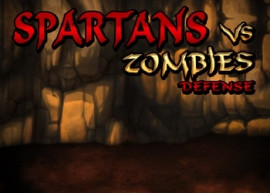 Обложка игры Spartans Vs Zombies Defense