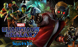 Обложка к игре Marvel's Guardians of the Galaxy - Episode 1: Tangled Up in Blue