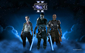 Обложка к игре Star Wars: The Force Unleashed 2