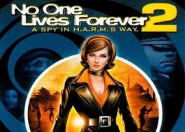 Обложка игры No One Lives Forever 2: A Spy in H.A.R.M.'s Way