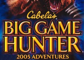 Обложка игры Cabela's Big Game Hunter 2005 Adventures