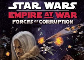 Обложка к игре Star Wars: Empire at War - Forces of Corruption