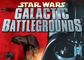 Обложка к игре Star Wars: Galactic Battlegrounds