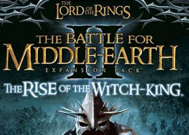 Обложка игры Lord of the Rings: The Battle for Middle-earth 2. The Rise of the Witch-king