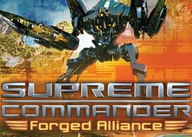 Обложка к игре Supreme Commander: Forged Alliance