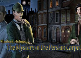 Обложка для игры Adventures of Sherlock Holmes: The Mystery of the Persian Carpet