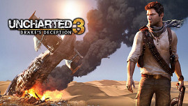 Обложка к игре Uncharted 3: Drake's Deception