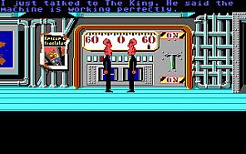Скриншот из игры Zak McKracken and the Alien Mindbenders 