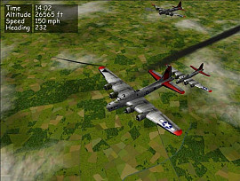 Скриншот из игры B-17 Flying Fortress: The Mighty Eighth под номером 1