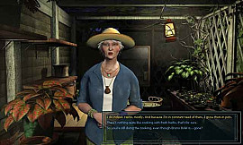 Скриншот из игры Nancy Drew: Legend of the Crystal Skull 