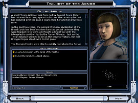 Скриншот из игры Galactic Civilizations 2: Twilight of the Arnor 