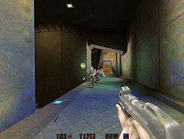 Скриншот из игры Quake 2 Mission Pack 1: The Reckoning 