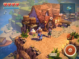 Скриншот из игры Oceanhorn: Monster of Uncharted Seas под номером 1