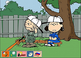 Обложка игры Peanuts: It's The Big Game, Charlie Brown!