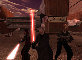 Скриншот из игры Star Wars: Knights of the Old Republic II - The Sith Lords 