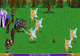 Обложка к игре Heroes of Might and Magic