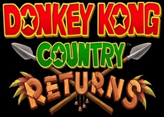 Обложка к игре Donkey Kong Country Returns