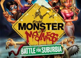Обложка игры Monster Madness: Battle for Suburbia