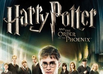 Обложка к игре Harry Potter and the Order of the Phoenix