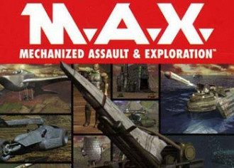 Обложка к игре M.A.X.: Mechanized Assault and Exploration