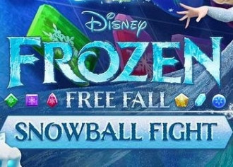 Обложка для игры Frozen Free Fall: Snowball Fight