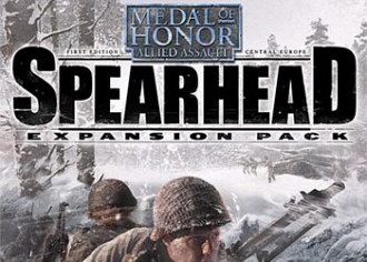 Обложка к игре Medal of Honor Allied Assault: Spearhead