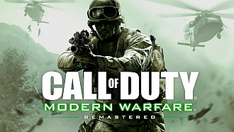 Обложка к игре Call of Duty: Modern Warfare Remastered