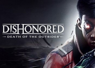 Обложка к игре Dishonored: Death of the Outsider