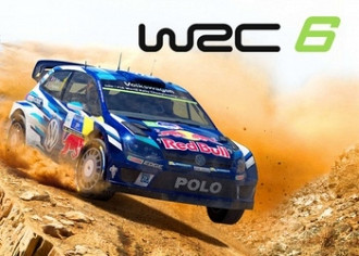 Обложка игры WRC 6 FIA World Rally Championship