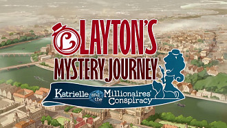 Обложка для игры Layton's Mystery Journey: Katrielle and the Millionaires' Conspiracy