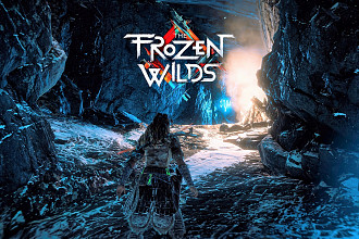 Обложка к игре Horizon: Zero Dawn - The Frozen Wilds